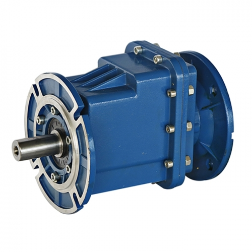 SLRC series aluminium housing helical geared motor