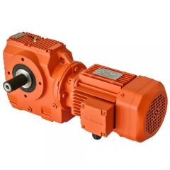 SC series helical-worm geared motor