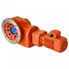 KC series helical-bevel geared motor
