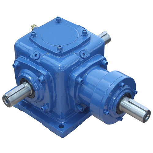 Spiral bevel gearbox (commutator)